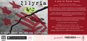 ILLYRIA at the Fringe World Festival 2014 [eFlyer]
